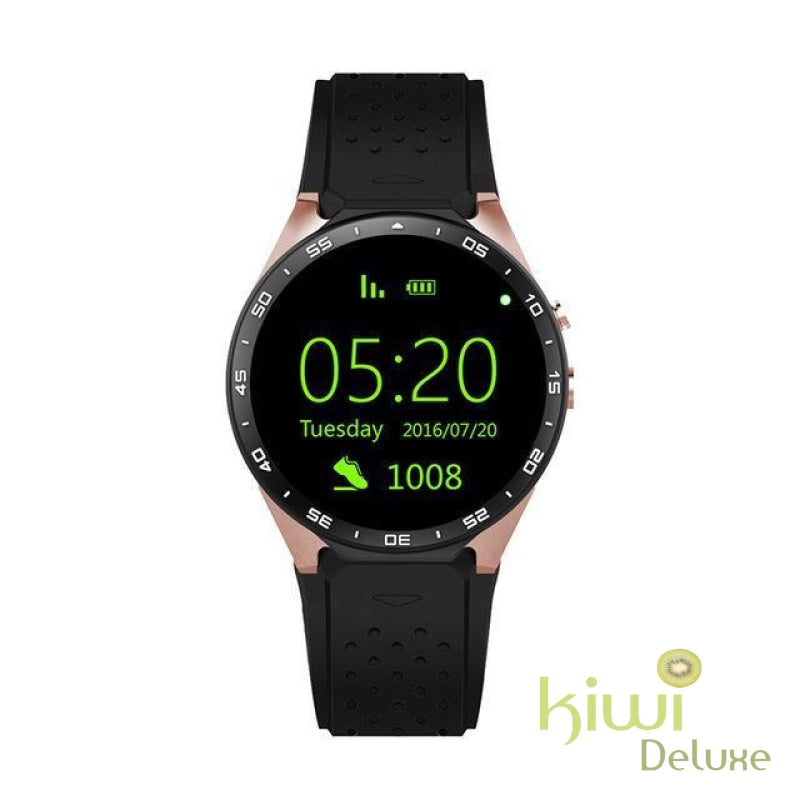 Best Rated Myk 2018 Smart Fit Gps Watch For Android And Iphone Gold Black