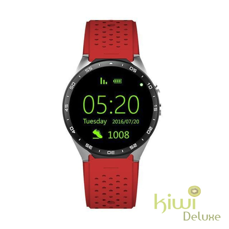 Best Rated Myk 2018 Smart Fit Gps Watch For Android And Iphone Red