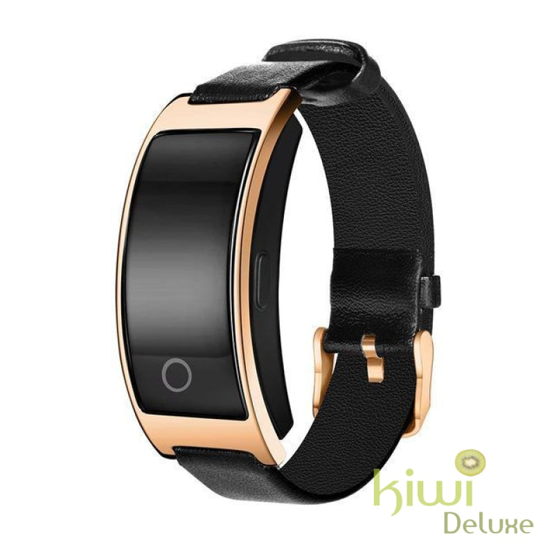 Blood Pressure/heart Beat Smart Watch Gold