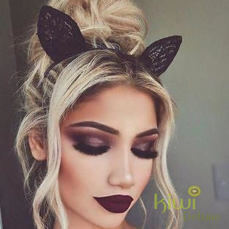 Halloween Instant Messy Hair Bun