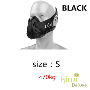 High Altitude Training Mask Black / S