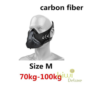 High Altitude Training Mask Carbon Fiber / M