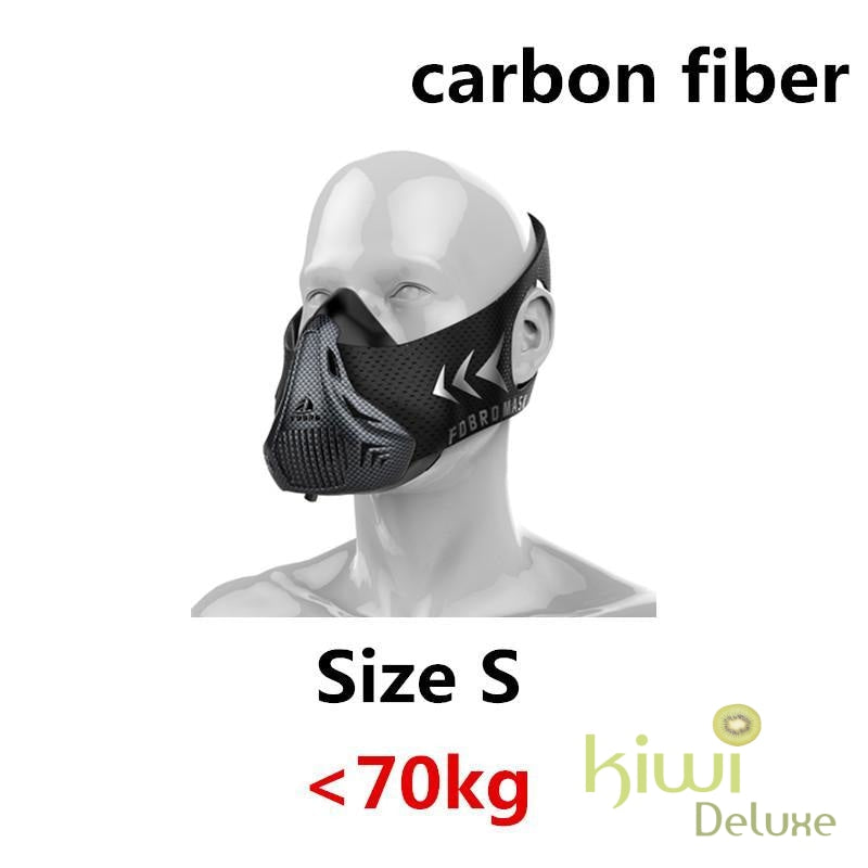 High Altitude Training Mask Carbon Fiber / S