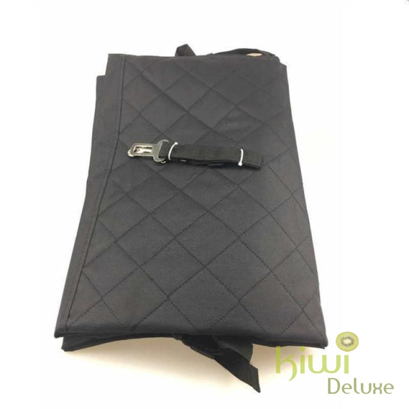 Luxury Waterproof Pet Seat Cover For Cars Black / 140X150Cm