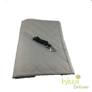 Luxury Waterproof Pet Seat Cover For Cars Gray / 140X150Cm