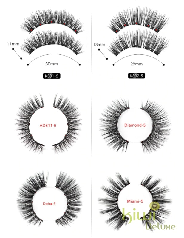 Magnetic Lashes Kit (Only Lashes)
