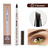 Microblading Tattoo Eyebrow Ink Pen Chestnut