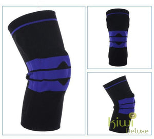 Nylon Silicon Knee Protection Black / 36Cm To 42Cm