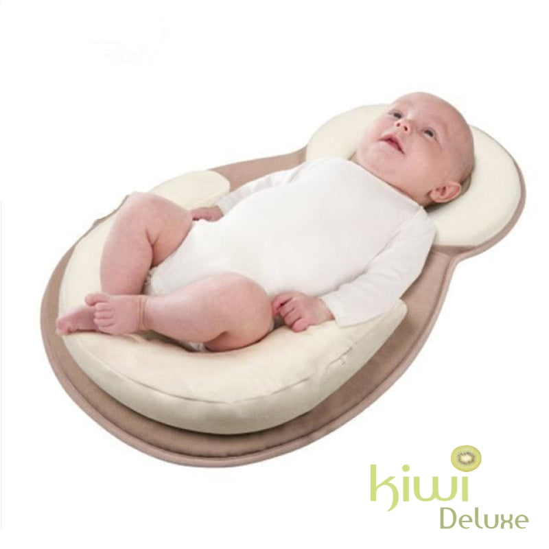 Portable Baby Bed Creamy-White