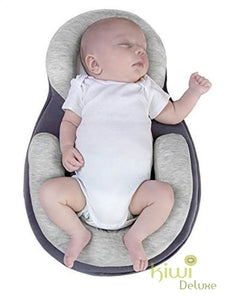 Portable Baby Bed Gray