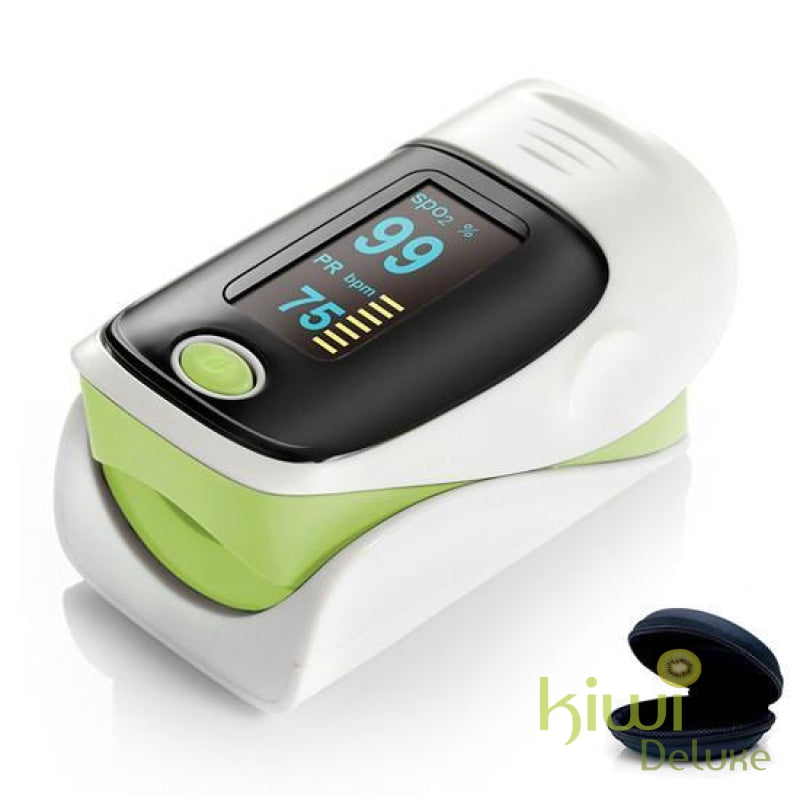 Pulse Oximeter Ce/iso Approved - (Awareness Campaign) Green / 1 Piece (Save 50%)