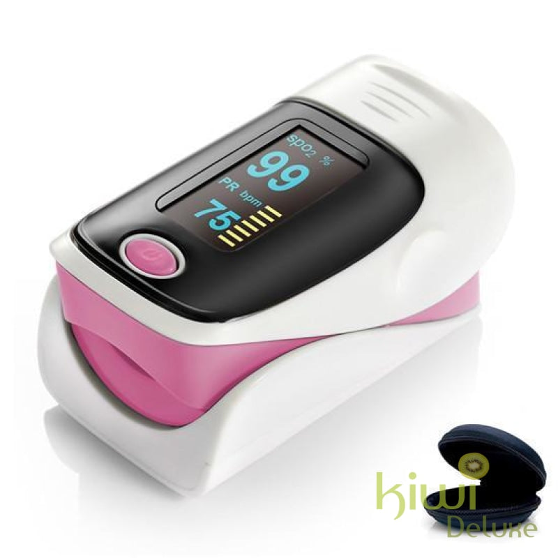 Pulse Oximeter Ce/iso Approved - (Awareness Campaign) Pink / 1 Piece (Save 50%)