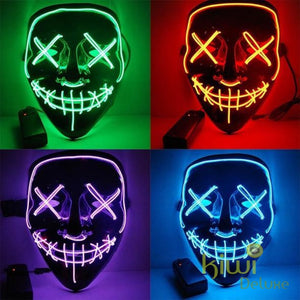Purge Halloween Led Light Party Mask Halloween