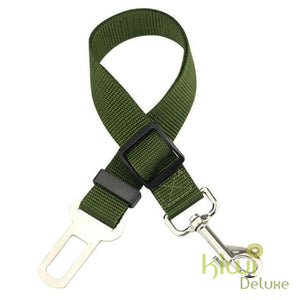Safe Pet Transport Seat Belt Army Green / Free Size