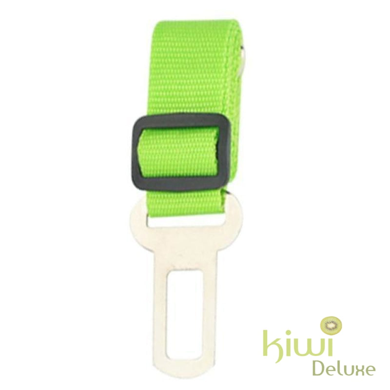 Safe Pet Transport Seat Belt Green / Free Size