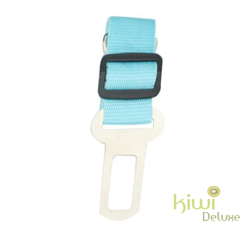 Safe Pet Transport Seat Belt Sky Blue / Free Size