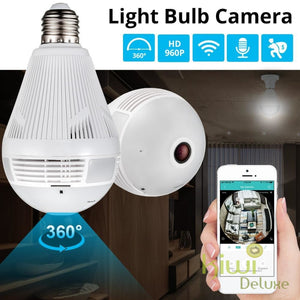 Security Camera Light Bulb