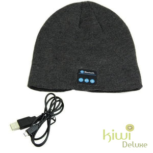 Unisex Wireless Bluetooth Beanie Hat Dh