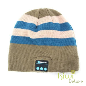 Unisex Wireless Bluetooth Beanie Hat Lg