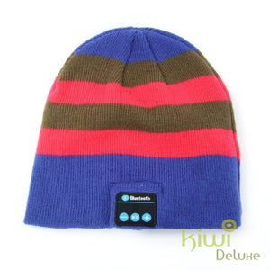 Unisex Wireless Bluetooth Beanie Hat Pl