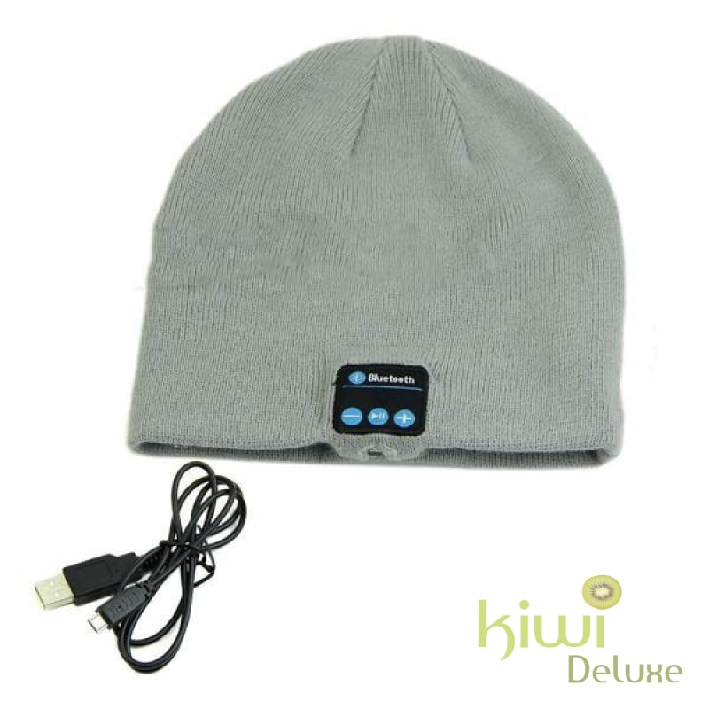 Unisex Wireless Bluetooth Beanie Hat Qh