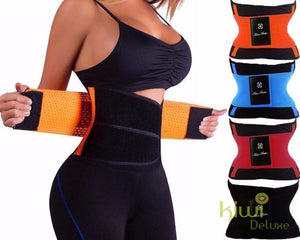 Waist Trainer Belt Black / L