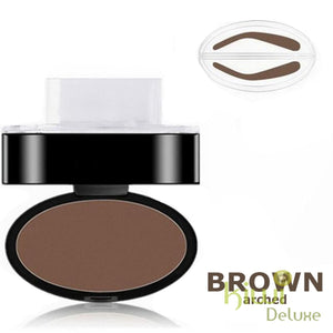 Waterproof Eyebrow Stamp Brown / Arched