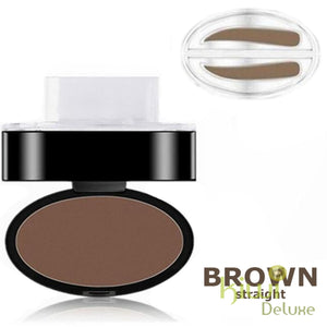 Waterproof Eyebrow Stamp Brown / Straight