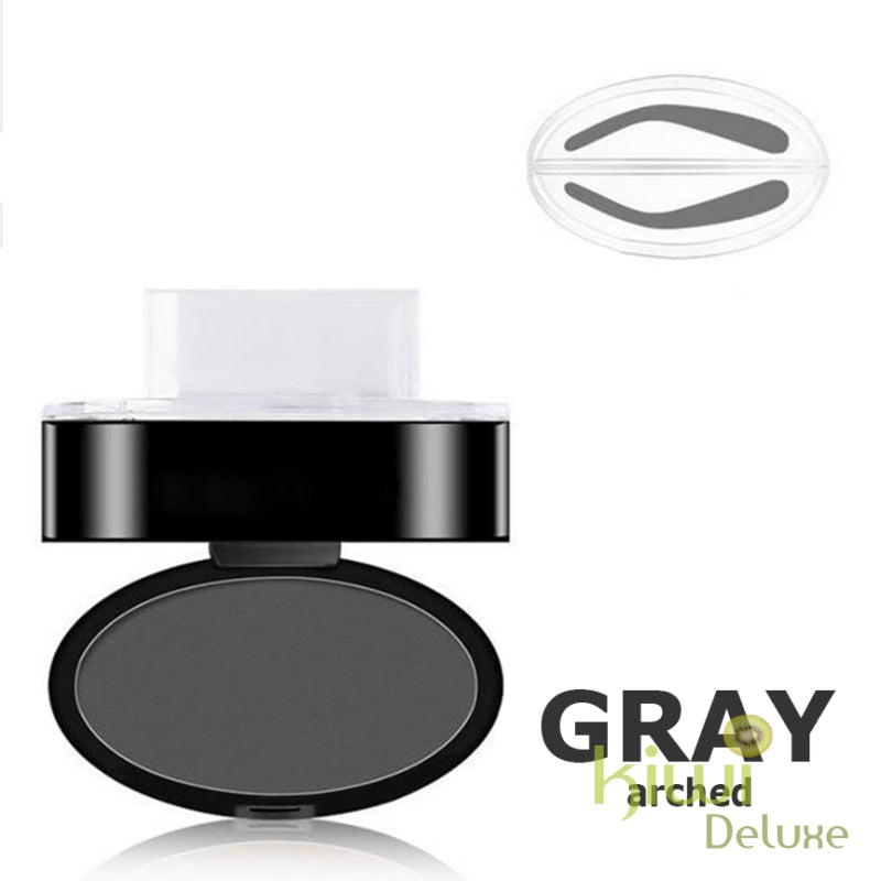 Waterproof Eyebrow Stamp Gray / Arched