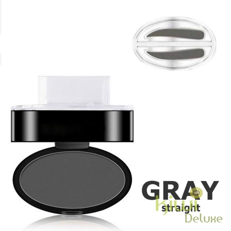 Waterproof Eyebrow Stamp Gray / Straight