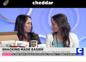 Snacking Made Easier-interview on CHEDDAR News