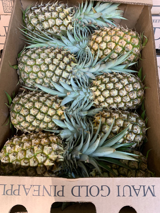 Case of Maui Gold Pineapple (8x Pineapples)