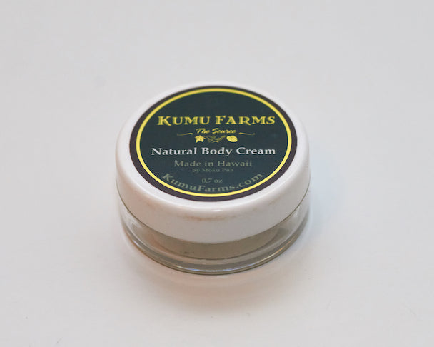 Natural Body Cream