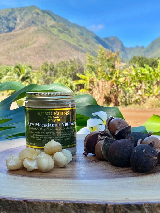 Raw Macadamia Nut Butter - KFarms