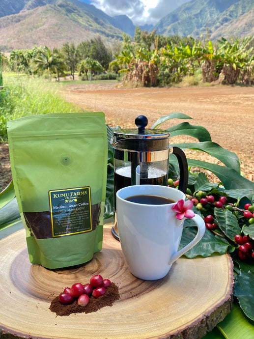 100% Maui Coffee- KFarms