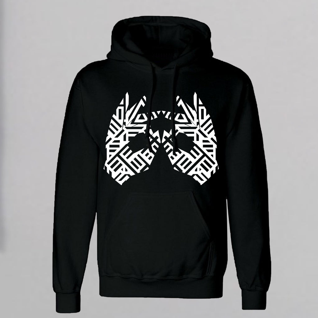 AM27 GRAPHIC HOODY - BLACK
