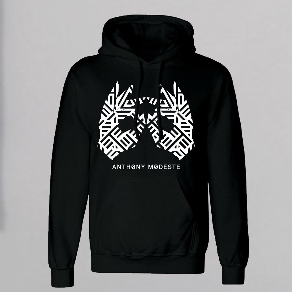 AM27 SIGNATURE GRAPHIC HOODY - BLACK