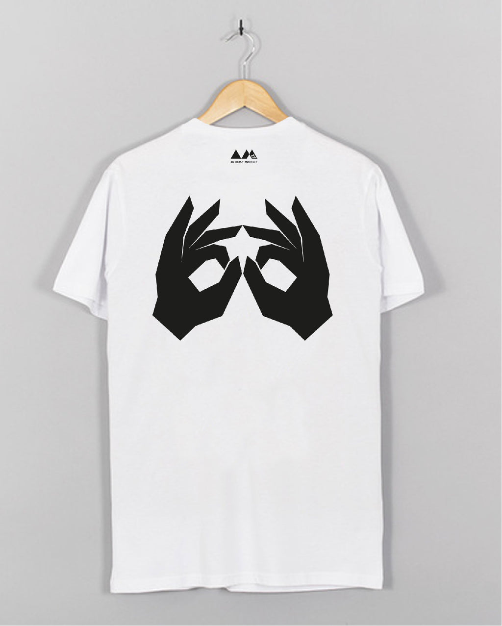 AM27 LOGO TEE - WHITE