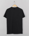 AM27 GLOSS GRAPHIC PRINT TEE - BLACK