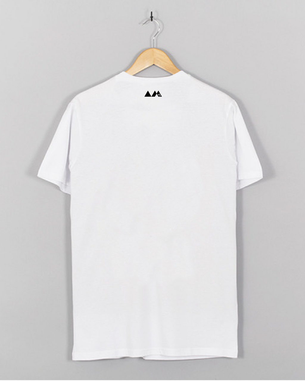 AM27 EYES PRINT TEE - WHITE