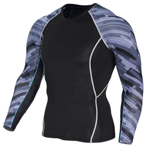 Compression Top Grey