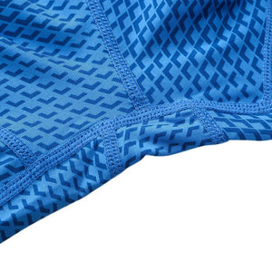 Snake Scale Short Blue