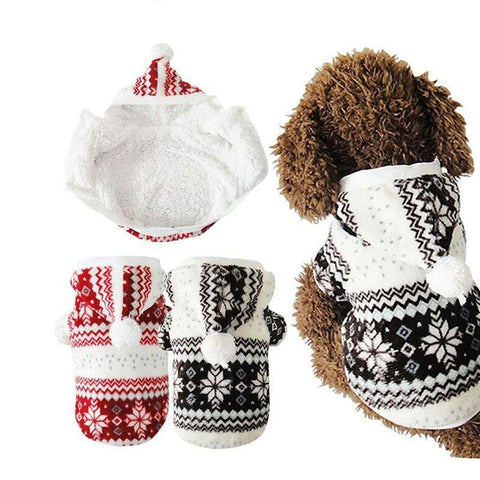 Snowflake Soft Dog Jacket