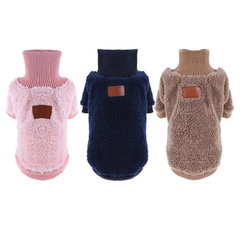 Warm Soft Dog Coat