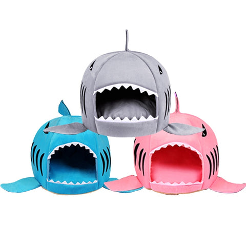 Soft Shark Shape Bed