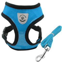 Soft Breathable Harness & Leash