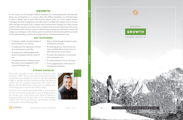 Ministry Growth Workbook