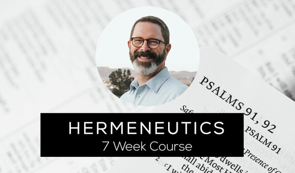 Hermeneutics (how to study the bible)