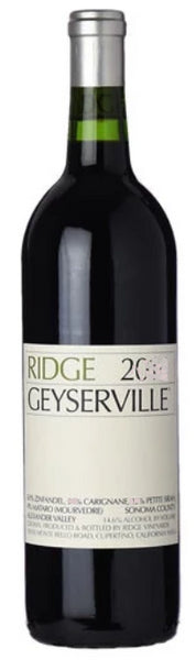 Ridge Geyserville Alexander Valley Sonoma County 2017