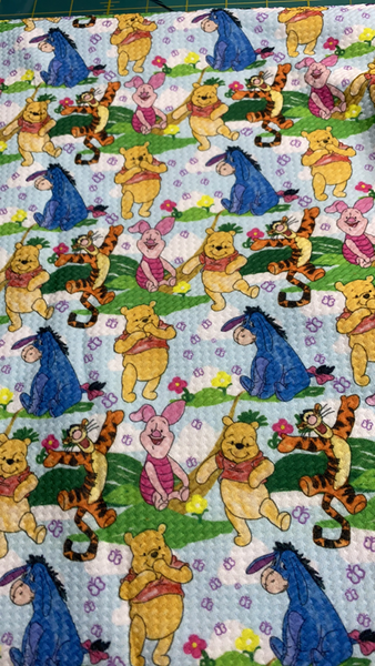 Cuddly Bear Fabric Bullet Fabric (1 yard Cuts)